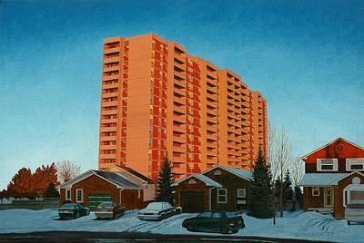 Sunrise Ajax Art Print by Allan OMarra