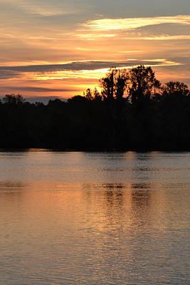 Photograph - Sunrise Alligator Lake by rd Erickson