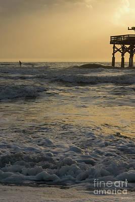 Photograph - Sunrise And Paddleboarding by Jennifer White