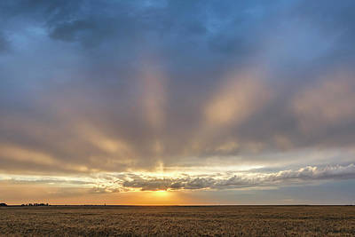 Photograph - Sunrise And Wheat 03 by Rob Graham