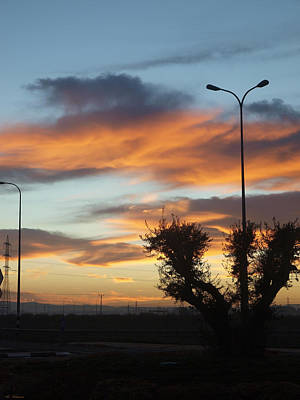 Color Photograph - Sunrise by Arik Baltinester