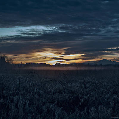 Photograph - Sunrise Art - Blue Hour Unhurried by Jordan Blackstone