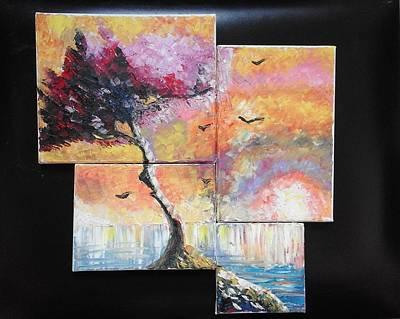 Painting - ''sunrise'' by Asia Dzhibirova