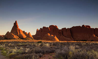 Photograph - Sunrise At Arches by Kunal Mehra