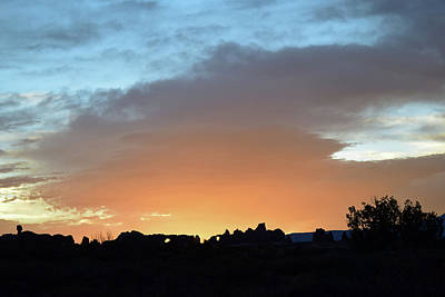 Photograph - Sunrise At Arches National Park No. 19-1 by Sandy Taylor
