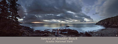 Photograph - Sunrise At Boulder Beach by John Meader