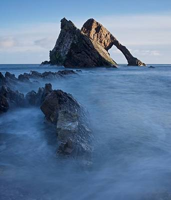 Photograph - Sunrise At Bow Fiddle Rock by Stephen Taylor
