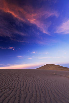 Photograph - Sunrise At Bruneau Dunes State Park Idaho Usa by Vishwanath Bhat