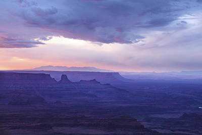 Photograph - Sunrise At Canyonlands by Marie Leslie