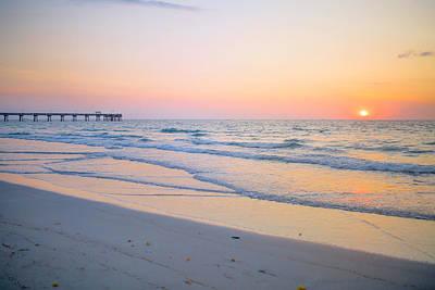 Canon Eos 5d Mark Iii Photograph - Sunrise At Dania Beach by Yuri Figuenick