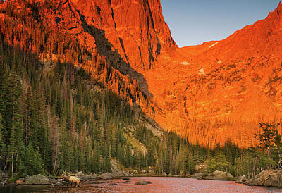 Photograph - Sunrise At Dream Lake by Kunal Mehra