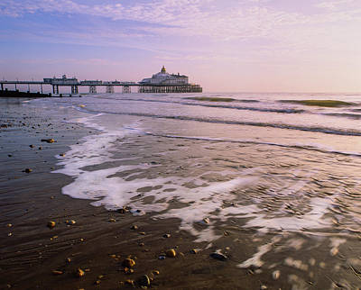 Photograph - Sunrise At Eastbourne Pier by Will Gudgeon