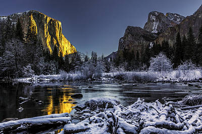 Photograph - Sunrise At El Capitan by PhotoWorks By Don Hoekwater