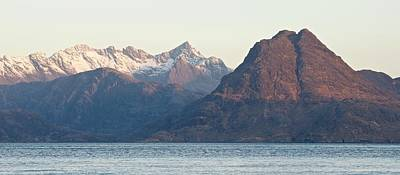 Photograph - Sunrise At Elgol 16x7 by Stephen Taylor