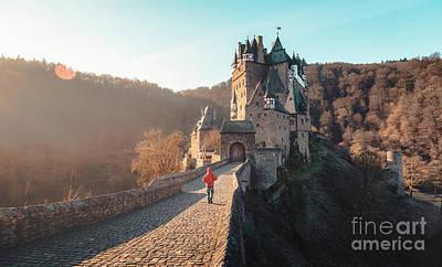 Photograph - Sunrise At Eltz Castle by JR Photography