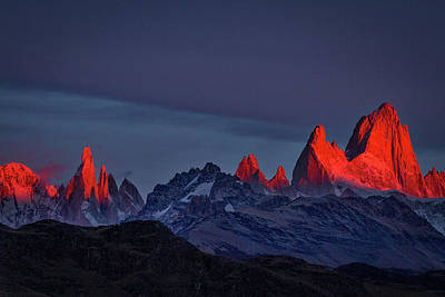 Photograph - Sunrise At Fitz Roy #2 - Patagonia by Stuart Litoff