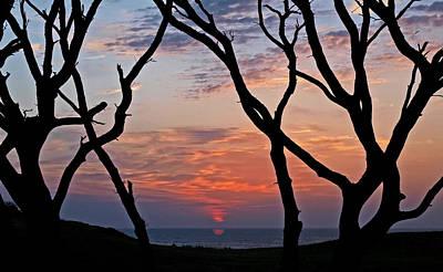 Sunrise At Fort Fisher Art Print by Paul Boroznoff