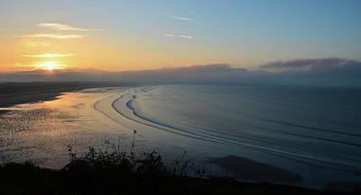 Photograph - Sunrise At Inch Beach by Barbara Walsh