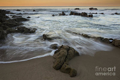 Photograph - Sunrise At Laguna Beach by Keith Kapple
