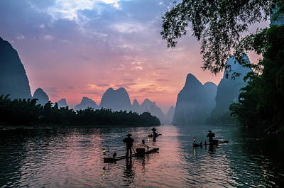 Photograph - Sunrise At Lee River by Usha Peddamatham