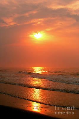 Photograph - Sunrise At Long Beach Island by John Rizzuto