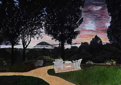 Sunrise At Lucille's Art Print