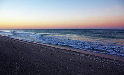 Photograph - Sunrise At Manasota Key by Debbie Oppermann