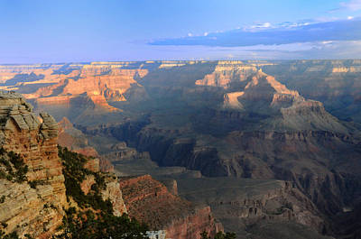Photograph - Sunrise At Mather Point  --  Grand Canyon  by Brian Hoover