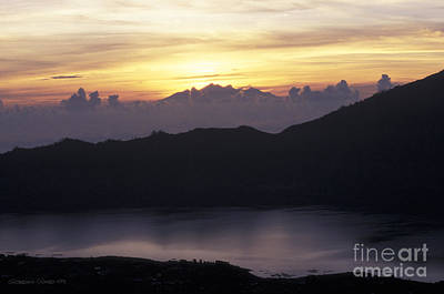 Sunrise At Mount Batur Bali Indonesia Art Print by Gordon Wood