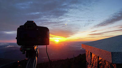 Photograph - Sunrise At Mount Mitchell by Daniel Lowe