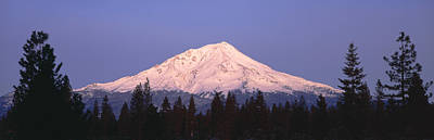 Mount Shasta Photograph - Sunrise At Mount Shasta, California by Panoramic Images