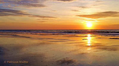 Photograph - Sunrise At Myrtle Beach by Patricia Walter