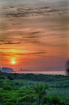 Photograph - Sunrise At N. Myrtle  by Ches Black