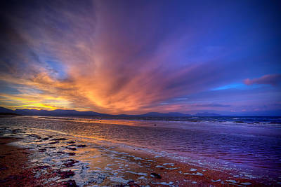 Photograph - Sunrise At Newborough by Peter OReilly