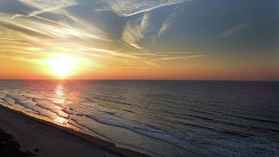 Photograph - Sunrise At North  Myrtle Beach by Cathy Harper