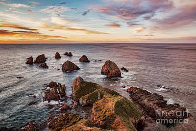Photograph - Sunrise At Nugget Point by Colin and Linda McKie