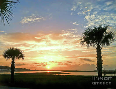 Photograph - Sunrise At Ocean Isle by Kerri Farley