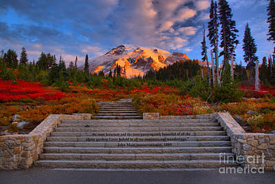 Photograph - Sunrise At Paradise by Adam Jewell