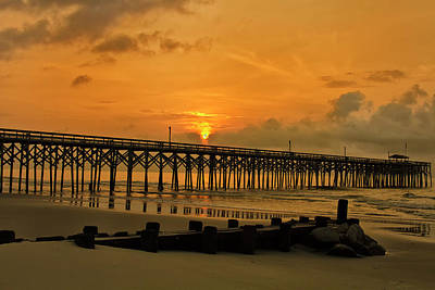 Sunrise At Pawleys Island Art Print
