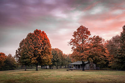 Photograph - Sunrise At Prairie Grove by James Barber