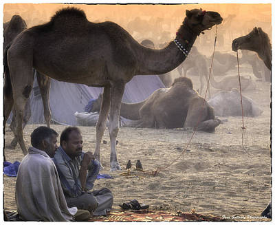 Photograph - Sunrise At Pushkar by Fran Gallogly