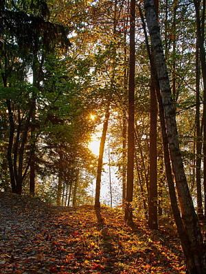 Photograph - Sunrise At Pyhajarvi by Jouko Lehto