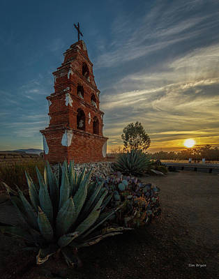 Photograph - Sunrise At San Miguel by Tim Bryan