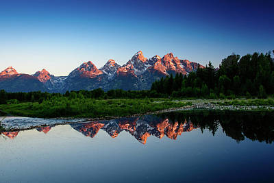 Photograph - Sunrise At Schwabacher's Landing by Michael McAuliffe
