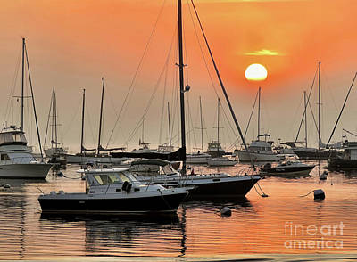 Photograph - Sunrise At Sea  by Janice Drew
