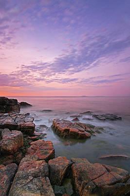 Studio Grafika Zodiac - Sunrise at Seawall in Southwest Harbor by Juergen Roth