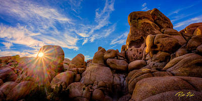 Photograph - Sunrise At Skull Rock by Rikk Flohr