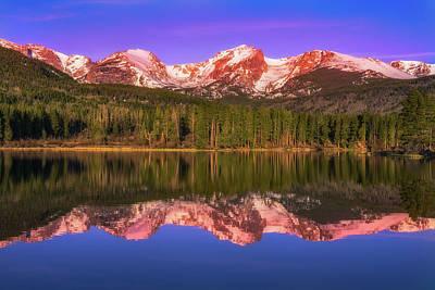 Photograph - Sunrise At Sprage Lake by Darren White