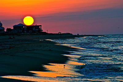 Sunrise At St. George Island Florida Art Print