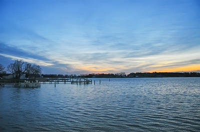 Eastern Shore Photograph - Sunrise At St Michaels Maryland by Bill Cannon